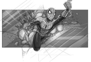 Spider-Man concept art