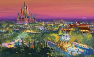 Shanghai Disneyland's Fantasyland