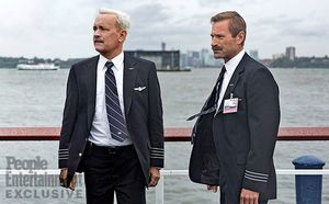 First look photo of Tom Hanks and Aaron Eckhart in