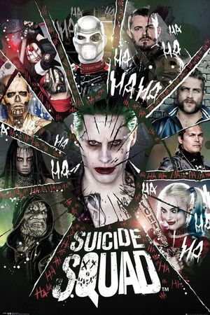 New group poster for Suicide Squad