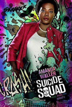 Amanda Waller character poster