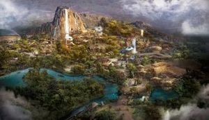 Adventure Isle Concept Art