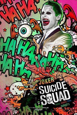 Joker character poster