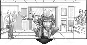 Concept art reveals Mysterio