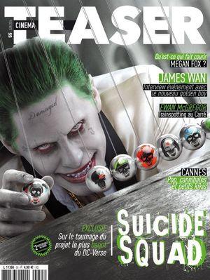Joker on the cover of Cinema Teaser