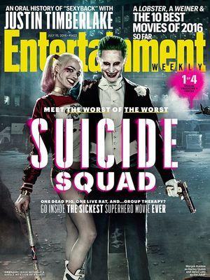 EW cover (1 of 4): Harley Quinn & Joker