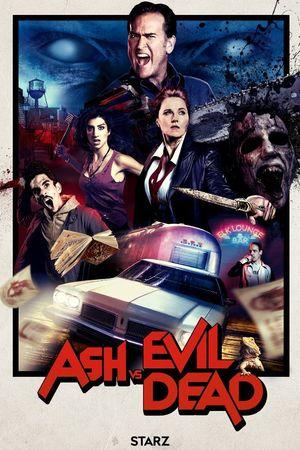 Official season 2 poster for Ash vs Evil Dead