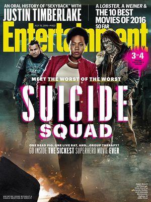 EW cover (3 of 4): Slipknot, Amanda Waller and Killer Croc
