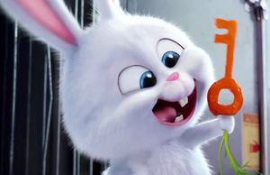 Snowball the bunny (voiced by Kevin Hart) in