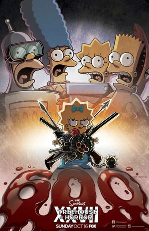 The Simpsons: 600th episode & Treehouse of Horror 27 poster