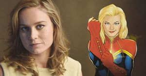 Brie Larson: Cast as Captain Marvel