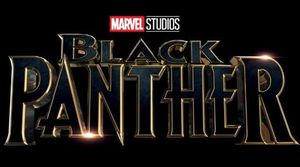 A brand new logo debuts for 'Black Panther'