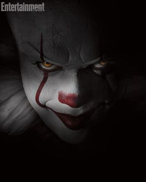 Terrifying first photo of Bill Skarsgård as Pennywise from