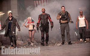 Boomerang, Harley Quinn, Will Smith, Rick Flag, Diablo
