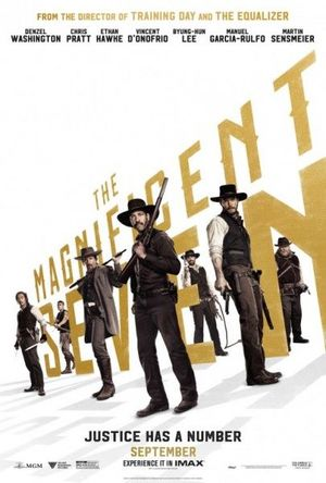 New poster for The Magnificent Seven