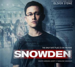 Snowden poster with Joseph Gordon-Levitt