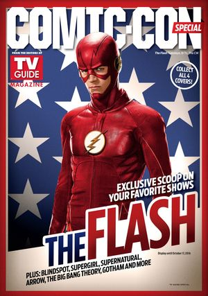 TV Guide's special SDCC magazine cover: The Flash