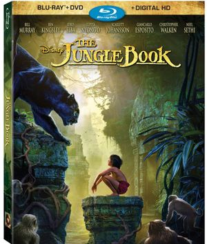 The Jungle Book DVD and Blu Ray out August 30