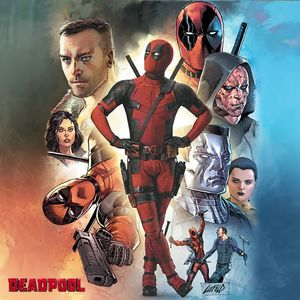 Deadpool creator Rob Liefeld unveils Deadpool's SDCC poster