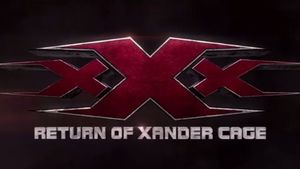 xXx: Return of Xander Cage teaser logo