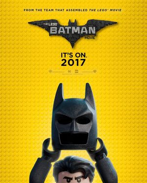 Will Arnett reveals The Lego Batman Movie SDCC poster
