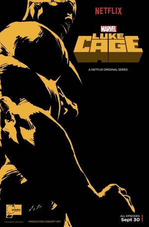 Key art poster for Marvel's Luke Cage