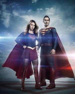 Here's our first look at Tyler Hoechlin as Superman in Seaso