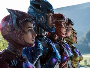 New image shows Power Rangers in suits and unmasked
