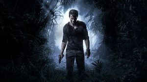 Uncharted 4: A Thief's End key art