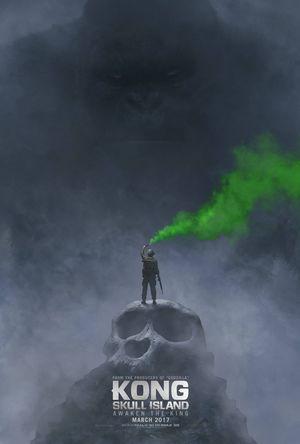 Kong: Skull Island SDCC poster