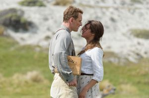 Michael Fassbender and Alicia Vikander in The Light Between