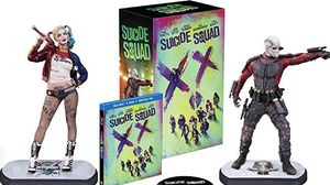 Amazon reveals home video packaging for 'Suicide Squad' with
