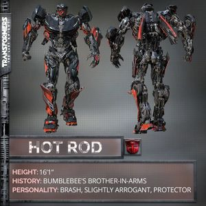 Hot Rod confirmed to be in