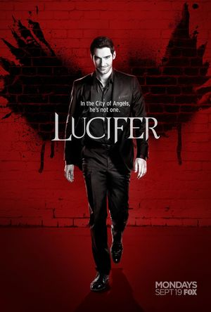 Official poster for season 2 of Lucifer