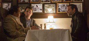 Jonah Hill, Miles Teller, Bradley Cooper in