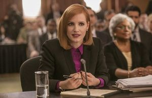 Our very first look at Jessica Chastain in 'Miss Sloane,' an