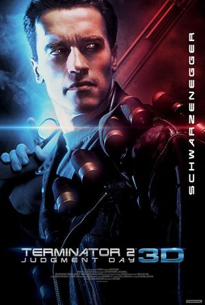 New poster announces the 3D re-release of Terminator 2