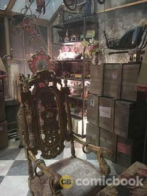 The Mad Hatter's lair