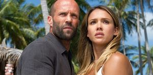 Jason Statham and Jessica Alba in