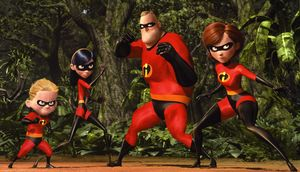 The Incredibles team