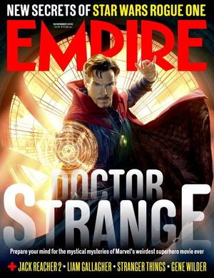 New Doctor Strange art on the cover of Empire