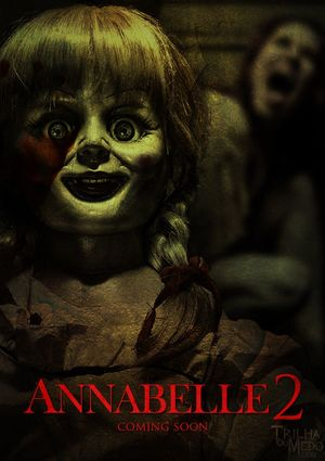 First poster for Annabelle 2, out next year