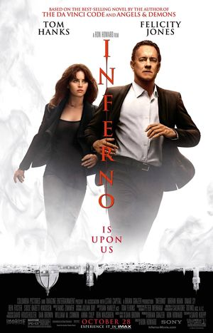 Tom Hanks is back for the latest poster promoting 'Inferno,'