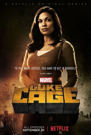 Character poster for Claire Temple in Marvel's Luke Cage