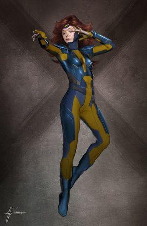 Early concept art of Jean Grey in 'X-Men: Apocalypse'