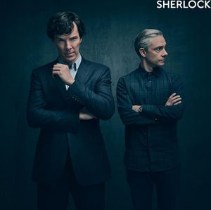New photo from the new season of 'Sherlock'