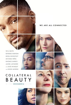 The new poster for 'Collateral Beauty' Showcases its stellar