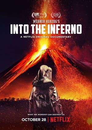 Werner Herzog and Clive Oppenheimer's 'Into the Inferno' Pos
