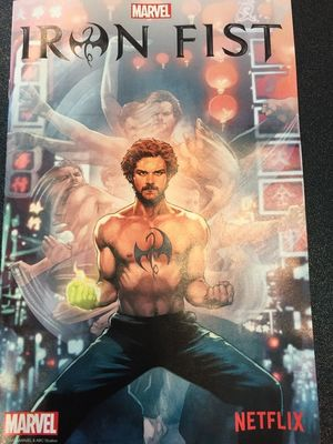 New artwork for Iron Fist debuts at New York Comic Con