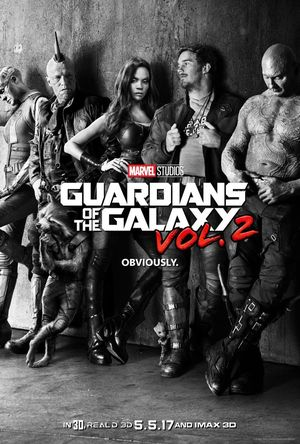 First official poster for Guardians of the Galaxy Vol. 2